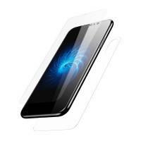 Переднее + заднее защитное стекло Baseus Glass Film Set Transparent для iPhone X