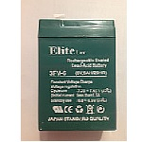 Аккумуляторная батарея 6V 6Ah Elite (Green) (70х47х105)