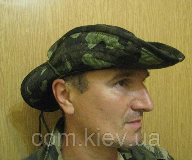 """Шляпа камуфлированная с широкими полями """"Украина-2"""""""