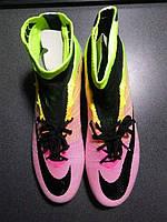 Футбольные бутсы Nike Mercurial Superfly Radiant Reveal FG White/Black/Volt/Total Orange (Брак)