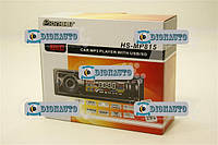 Магнитофон (USB/FM) евро разъем (магнитола)  (815)