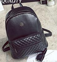 Рюкзак женский кожзам стеганный Nicole, фото 1