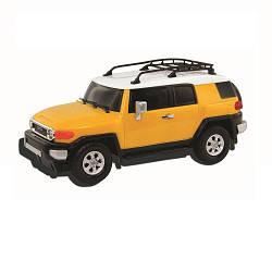 Автомодель - TOYOTA FJ CRUISER (ассорти желтый, голубой,1:26) 89531