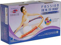 Обруч массажный PASSION Health Hoop 2.8 кг / Хула-хуп
