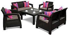 Набор садовой мебели Corfu FIESTA  2 Дивана + 2 Кресла + Стол