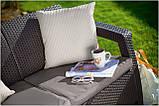 Набор садовой мебели Corfu FIESTA  2 Дивана + 2 Кресла + Стол, фото 4