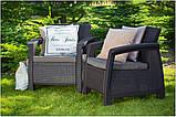 Набор садовой мебели Corfu FIESTA  2 Дивана + 2 Кресла + Стол, фото 6