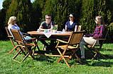 Набор деревянной мебели BOSTON Стол + 6 кресел, фото 2