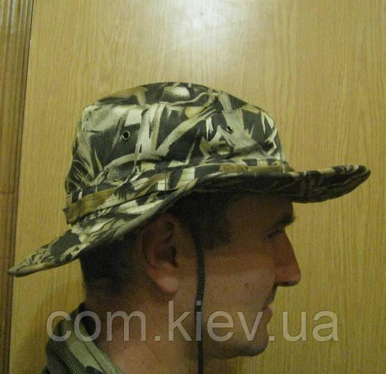 """Шляпа камуфлированная с широкими полями """"Камыш"""""""