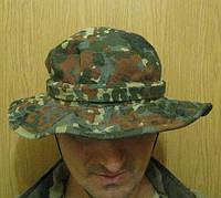 """Шляпа камуфлированная с широкими полями """"Flecktarn"""""""