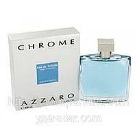 Мужская туалетная вода Azzaro Chrome (строгий, но чувственный фужерный цитрусовый аромат)