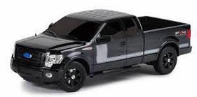 Автомодель - FORD F-150 FX (ассорти черный, синий, 1:26, свет, звук, инерц.)