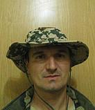 """Шляпа камуфлированная с широкими полями """"Desert Flecktarn"""", фото 2"""