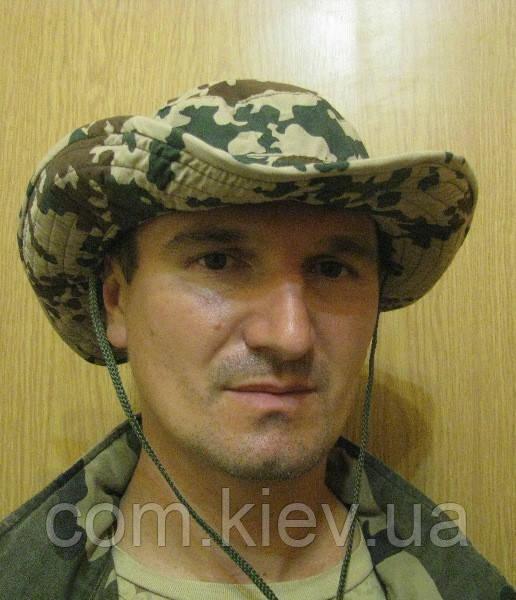 """Шляпа камуфлированная с широкими полями """"Desert Flecktarn"""""""