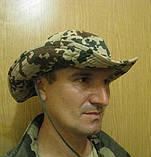 """Шляпа камуфлированная с широкими полями """"Desert Flecktarn"""", фото 3"""