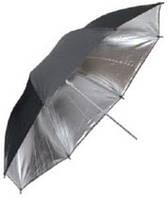 Falcon URN-60TSB зонт черно-серебристый/просвечивающийся 152см