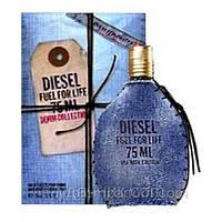 Мужская туалетная вода Fuel for Life Denim Collection Homme Diesel (чувственный, бодрящий, освежающий аромат)
