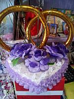 Свадебные кольца на машину (эконом)
