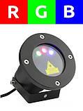 Лазерный проектор RGB 8в1  3 цвета + пульт, фото 2