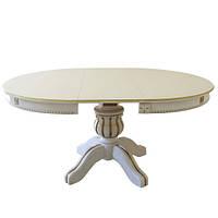 Круглый деревянный стол раздвижной Богема