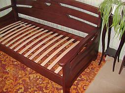 """Деревянный диван - кровать """"Луи Дюпон - 2"""" (200*90). Массив – ольха. Покрытие - № 11. 2"""