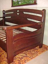 """Деревянный диван - кровать """"Луи Дюпон - 2"""" (200*90). Массив – ольха. Покрытие - № 11. 3"""