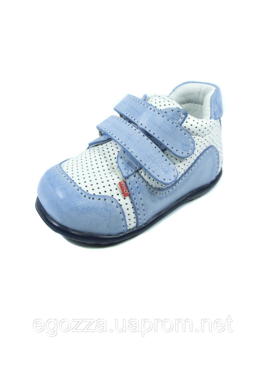 09c684594bb7 Стильные кожаные детские кроссовки на липучке . Размеры  18 - Магазин  одежды и обуви для