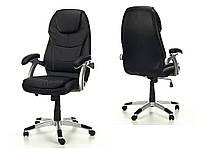 Кресло офисное THORNET Calviano черное + настенные часы