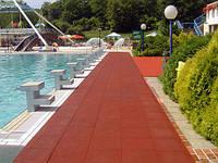 Покрытие из резиновой крошки для бассейна, фото 1