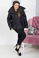 Черная и красная куртка с завязками 48-50 , 52-54рр
