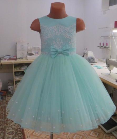 Дитяче плаття - Перли