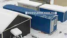 Вагончик, склад-раздевалка, мобильная (12 х 2.5 м.) для спецодежды, на основе цельно-сварного металлокаркаса., фото 3
