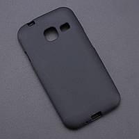 Силиконовый TPU чехол JOY для Samsung Galaxy J1 mini SM-J105 черный
