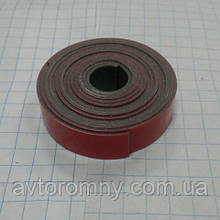 Скотч двусторонний красный 1м на 9мм 3М