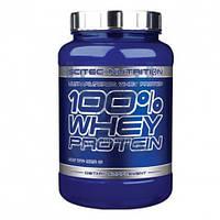 Scitec Nutrition 100% Whey Protein 920г протеин сывороточный спортивное питание