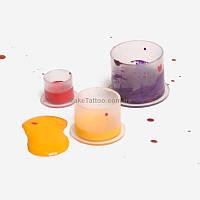 Колпачки под краску 13 мм. с плоским дном