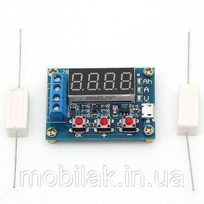 Тестер измеритель емкости батарей аккумулятора ZB2L3