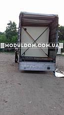 Бытовка, строительная, мобильная (6 х 2,5 м., на основе цельно-сварного металлокаркаса., фото 3