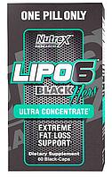 Комплексные жиросжигатели, Nutrex, Lipo 6 Black Hers ultra concentrate, 60 caps