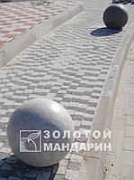 Антипарковочный шар серый