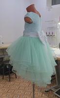 Дитяче плаття - ментол, фото 4