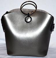 Женская сумка Michael Kors с металлическими ручками 27*24