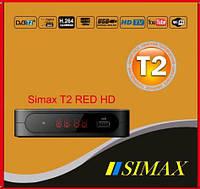 DVB-T2 телевизионный цифровой тюнер SIMAX RED ( megogo+youtube )