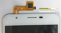 Модуль (дисплей+сенсор) для Oukitel U7 Pro, BRAVIS Atlas A551 Dual SIM білий, фото 3