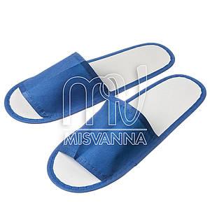 Тапочки одноразовые пара, синие