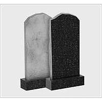 Обапол 60*40*5-10 смгранит прямоугольный гранитный черный цветной одинарный