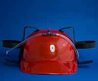 Шлем Любителя пива для мужчины (красный)