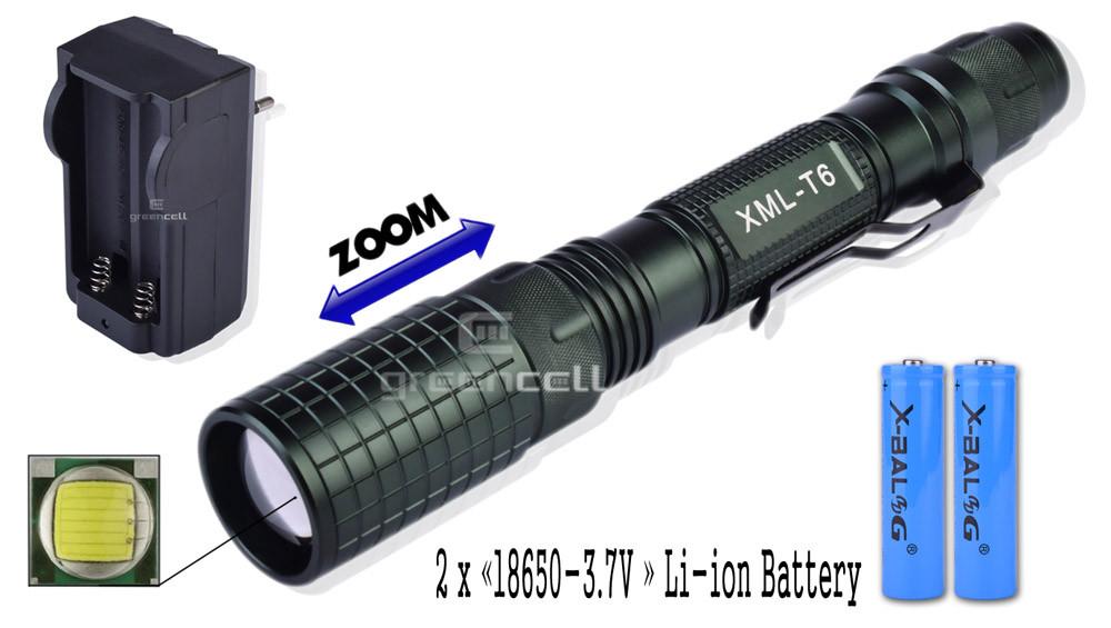 Фонарик светодиодный 2804-Т6