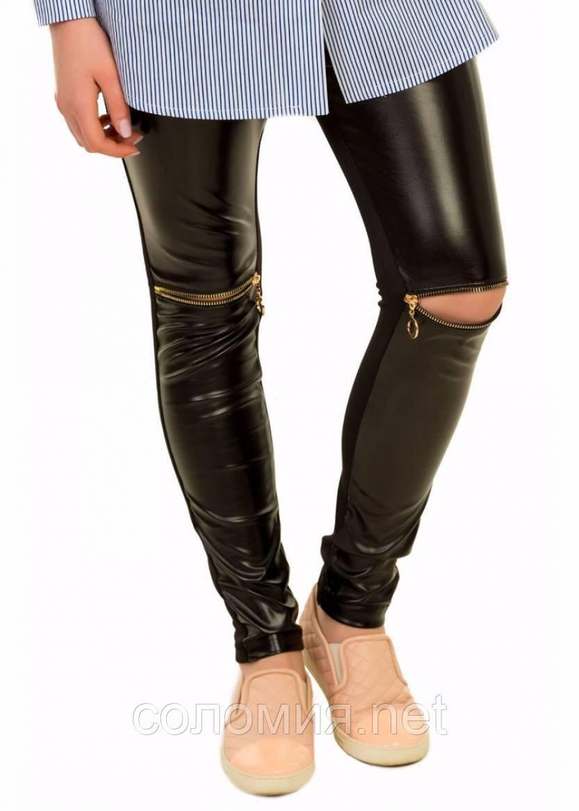 Теплі хутряні штани для дівчаток 134-158р