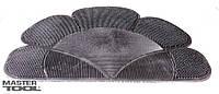 Коврик резиновый ромашка 410х550 мм